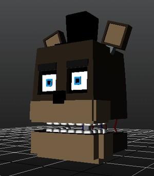 FNAF 1 Freddy Head