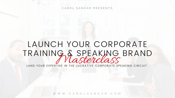 Launch Your Corporate Brand Masterclass REPLAY