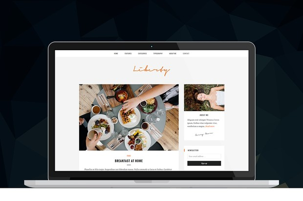 Liberty - WordPress Blog Theme