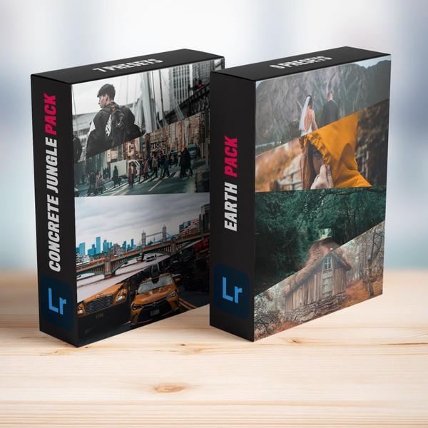 CITY VS NATURE BUNDLE - 16 Adobe Lightroom Presets