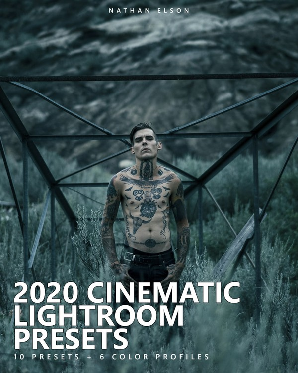 2020 CINEMATIC LIGHTROOM PRESETS + COLOR PROFILES