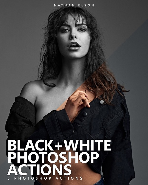 B+W PHOTOSHOP ACTIONS