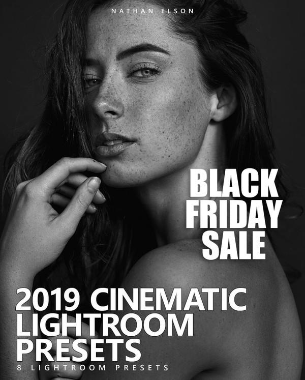 NATHAN ELSON 2019 LIGHTROOM PRESET PACK