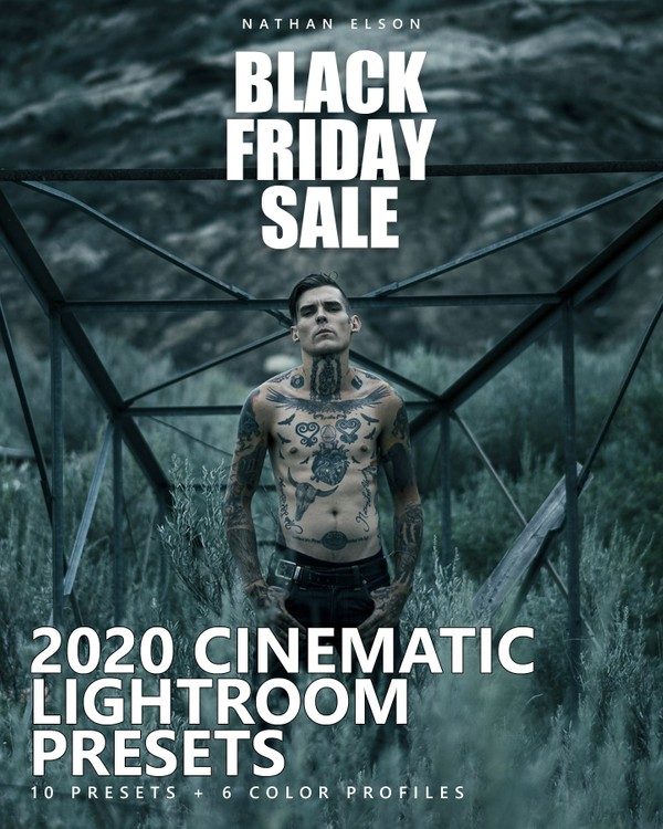 2020 CINEMATIC LIGHTROOM PRESETS + COLOR PROFILES