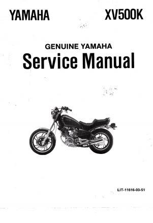 Manual de taller para yamaha xv 500 virago $ 150,00 en mercado libre.