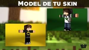 Model De Tu Skin De Minecraft