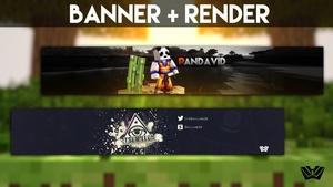 Youtube Banner [2D] + Render