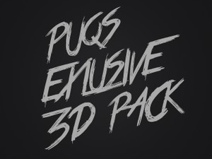 Puqs Exclusive 3D Pack