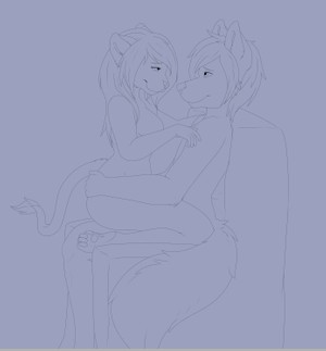 Couples Lineart