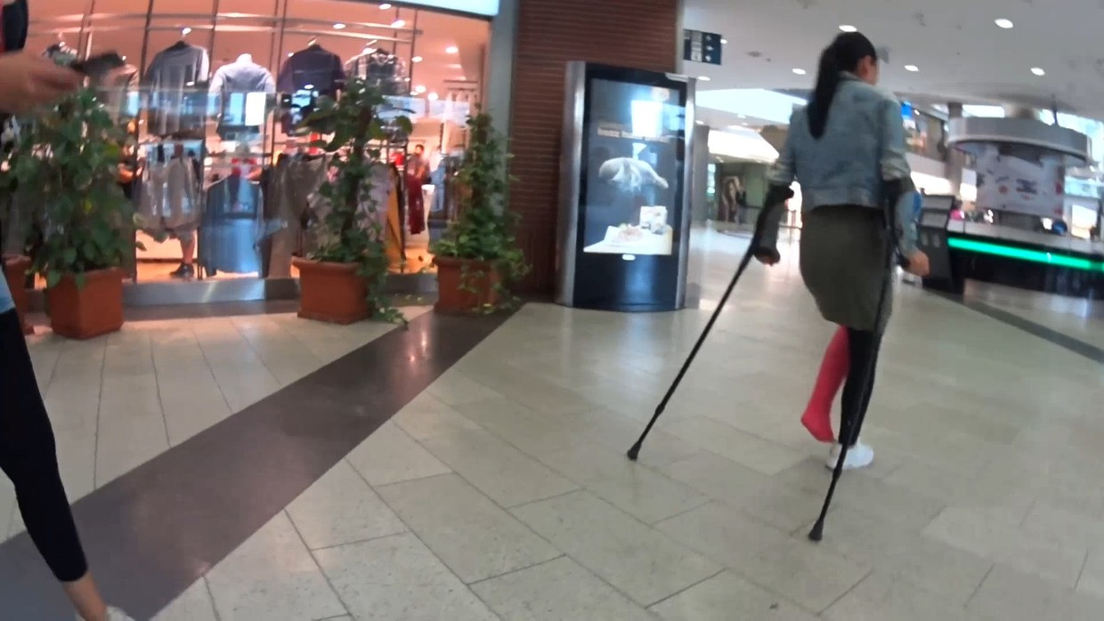 Adriana LLC - Visiting the shopping center with my LLC - 18 min
