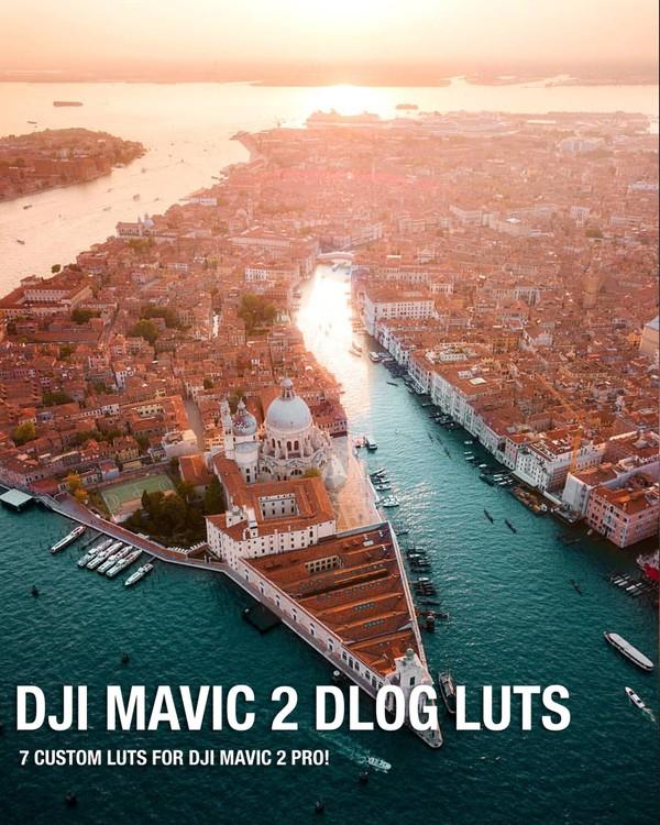 DJI Mavic 2 DLOG LUTS!