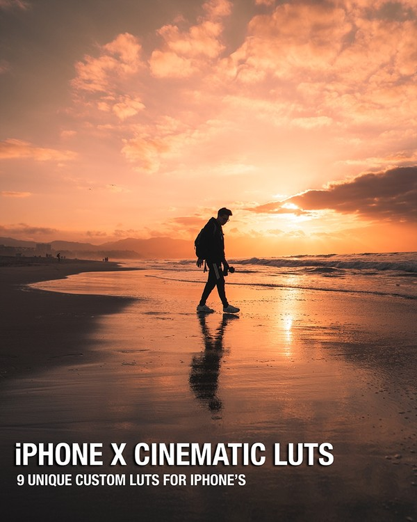 iPhone X Cinematic Luts Pack!