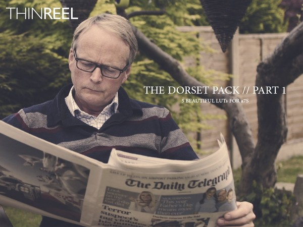 5 CINEMATIC LUTs for Sony A7s Cine 4 (The Dorset Pack // Part 1)