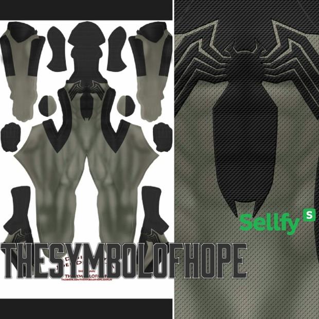 Grey Symbiote Spider-Man