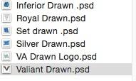 Drawn PSD Pack #1