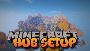 Full Hub Setup! Minecraft 1.8