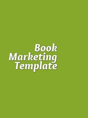 Book Marketing Template