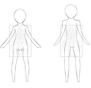 Male-Female Chibi Bases - 1