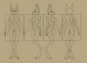 Female Anthro Ref Bases