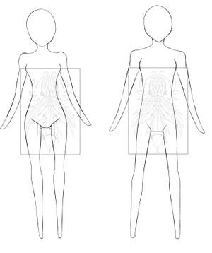 Male-Female Chibi Bases - 2