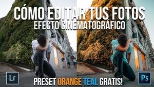 Orange Teal Preset - Yeyo