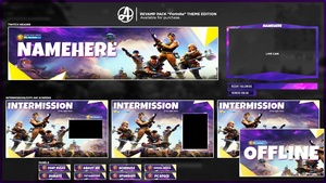 Fortnite (Streamer Revamp Pack)