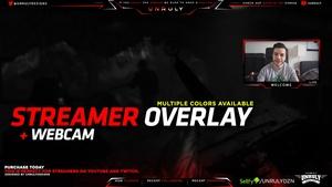 Basic Red #2 (Stream Cam Overlay)