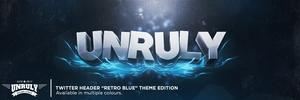 Retro Blue (Twitter Header)