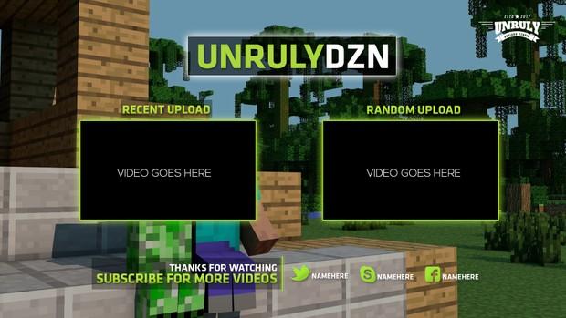 Youtube Outro Panels (Bundle Pack)