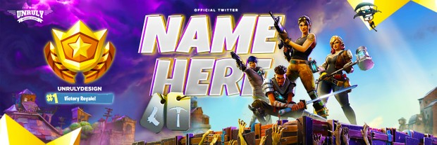 Fortnite (Twitter Header)