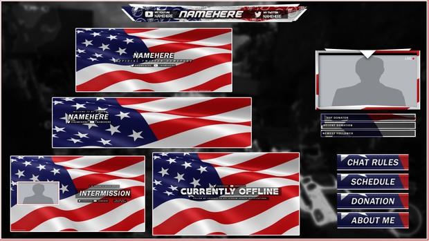 USA (Social Revamp Pack)
