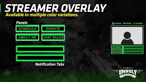 Basic Green (Streamer Revamp Pack)