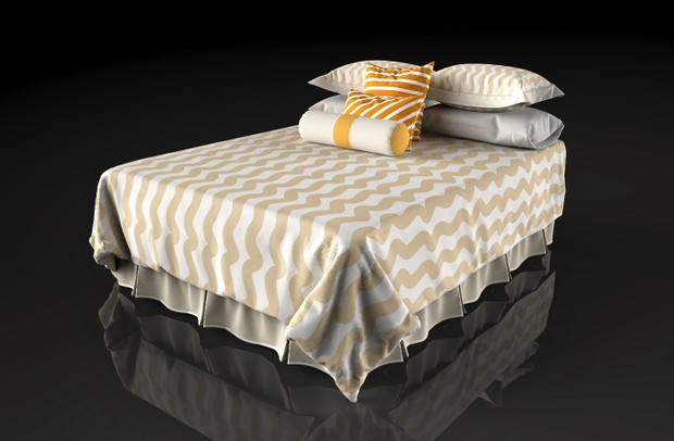 5 x Beautifully designed & modelled 3d beds