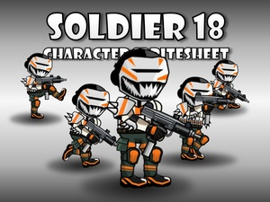 Soldier Character 18