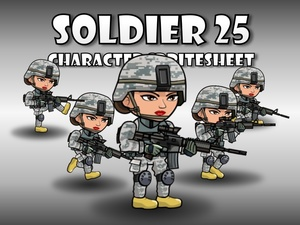 Soldier Character 25