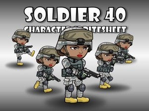 Soldier Character 40