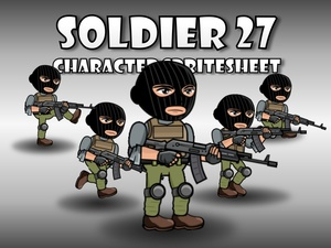 Soldier Character 27