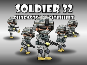 Soldier Character 32