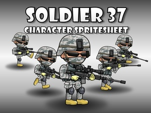 Soldier Character 37