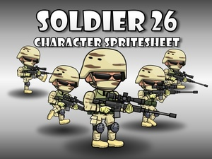 Soldier Character 26