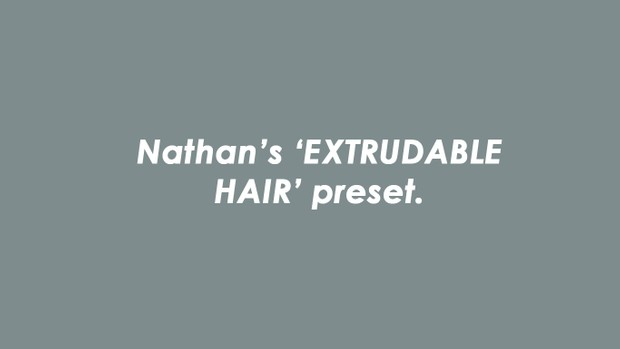 Nathan's Extrudable Head