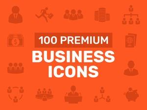 100 Premium Business Icons