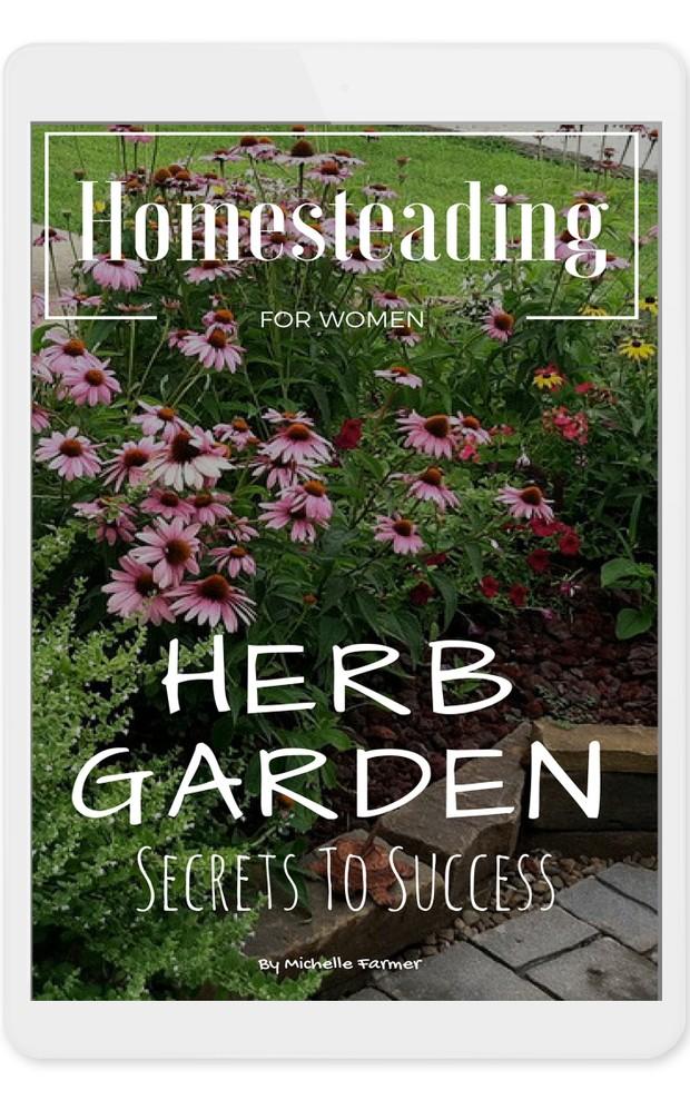 Herb Garden For Beginners -ebook Digital Download