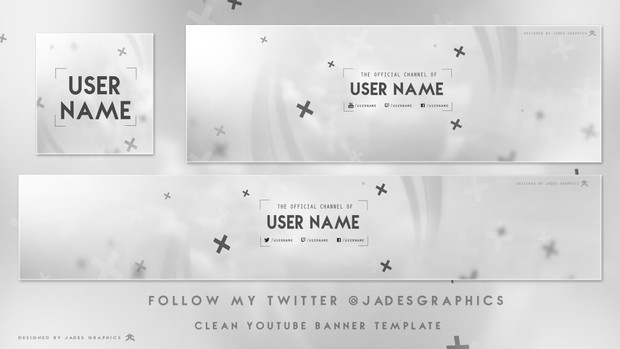 Clean 2D Revamp Template by Ross L Designs (JadesGraphics)