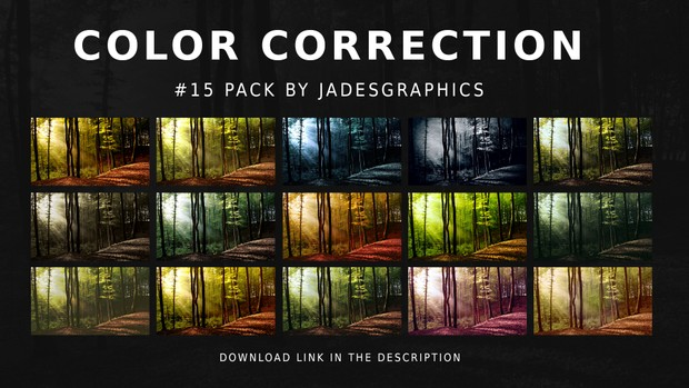#15 Color Correction Pack