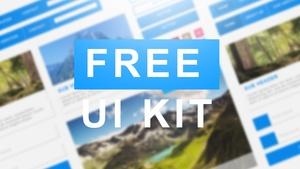 UI Web Design Kit