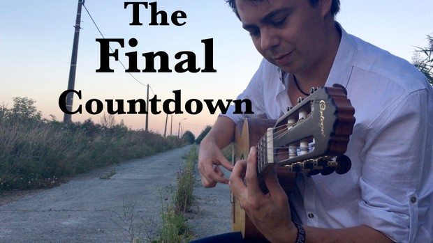 The Final Countdown (Europe) - Solo guitar arrangement by Thomas Zwijsen