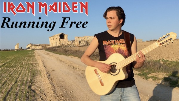 Running Free (Iron Maiden) Tabs and Video Lesson