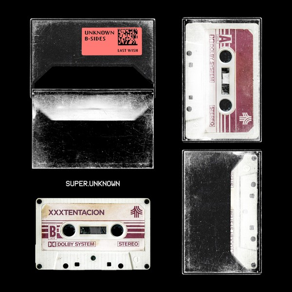 Scratched Dusty 80's Cassette Tape Photoshop Mockup PSD