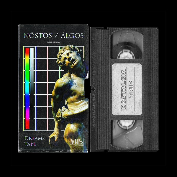 VHS Tape and Cover Mockup - Photoshop .PSD